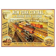 New York Central & Hudson Riv Poster