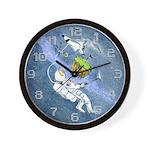 Space Golf Wall Clock