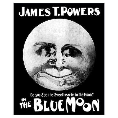 BLUE MOON 16X20 Poster