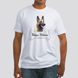 Malinois 2 Fitted T-Shirt
