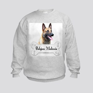Malinois 2 Kids Sweatshirt