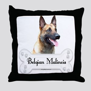 Malinois 2 Throw Pillow