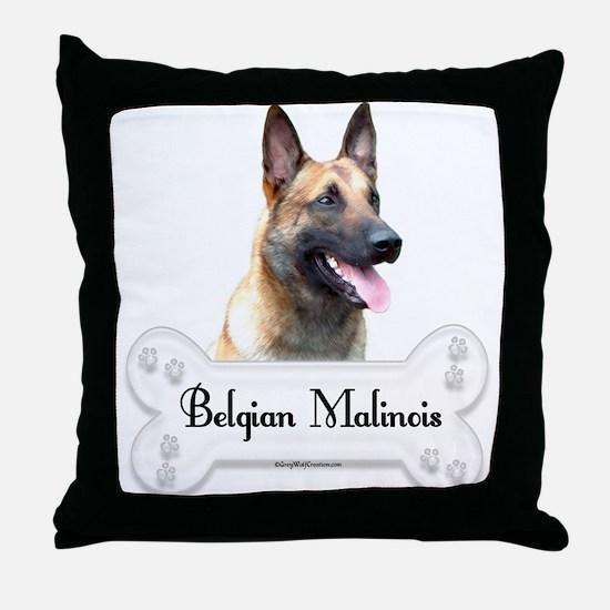 Malinois 2 Throw Pillow