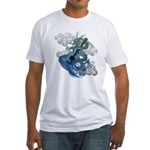 Dragon aco Fitted T-Shirt
