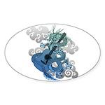 Dragon aco Sticker (Oval 10 pk)