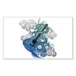 Dragon aco Sticker (Rectangle 50 pk)