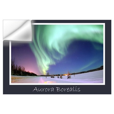 Northern Lights Wall Decal