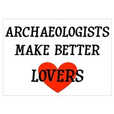 Archaeologist gift Poster