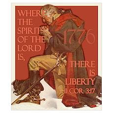 Washington- Liberty and the S Poster