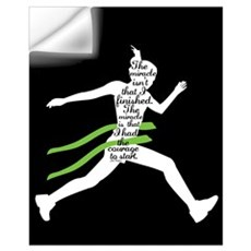 Running Wall Decal