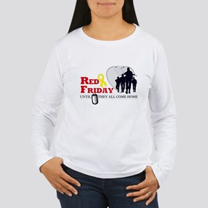 Red Friday - Until They All C Women's Long Sleeve