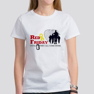 Red Friday - Until They All C Women's T-Shirt