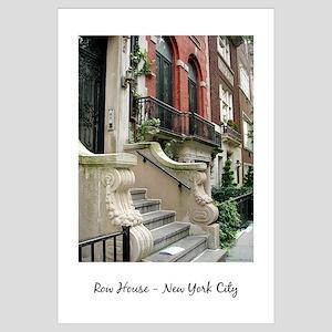 Row House New York City 11x17
