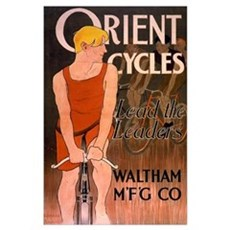 ORIENT CYCLES 11x17 Poster