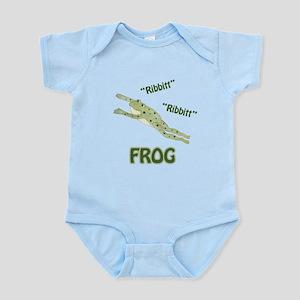 Ribbitt Frog Infant Bodysuit
