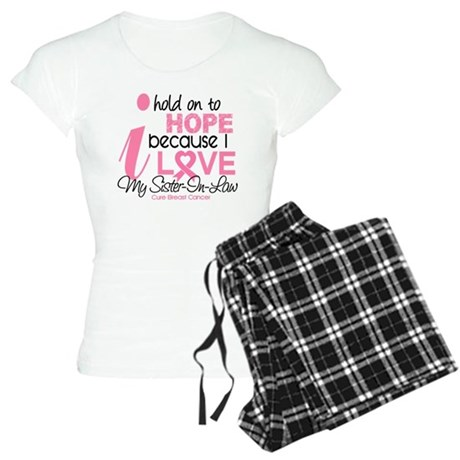 Hope For My Breast Cancer Women's Light Pajamas
