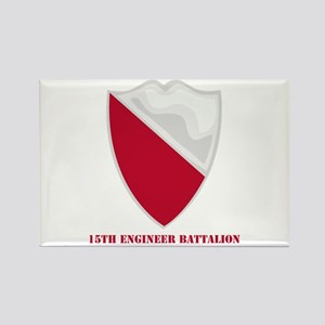 DUI - 15th Engineer Battalion with text Rectangle