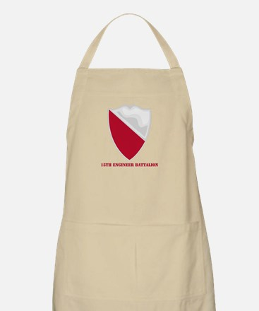 DUI - 15th Engineer Battalion with text Apron