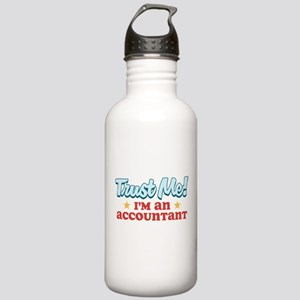 Trust me Accountant Stainless Water Bottle 1.0L