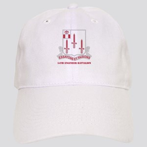 DUI - 54th Engineer Battalion with Text Cap