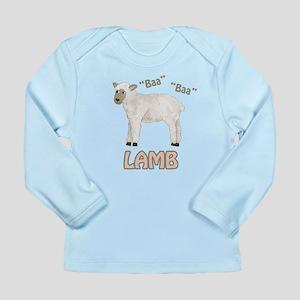 Baa - Lamb Long Sleeve Infant T-Shirt