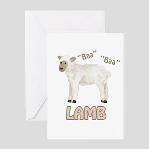 Baa - Lamb Greeting Card
