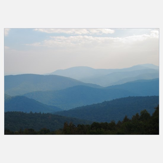 Blue Smokey Mountains #03 X-Large Print 23x35