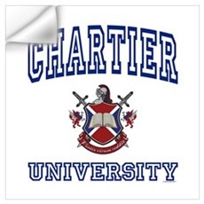 CHARTIER University Wall Decal