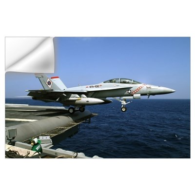 F-18 Wall Decal