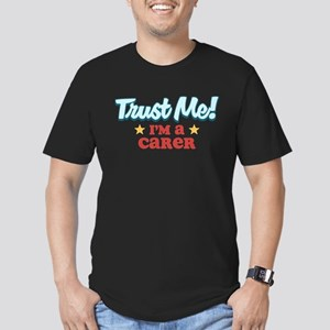 Trust me Carer Men's Fitted T-Shirt (dark)