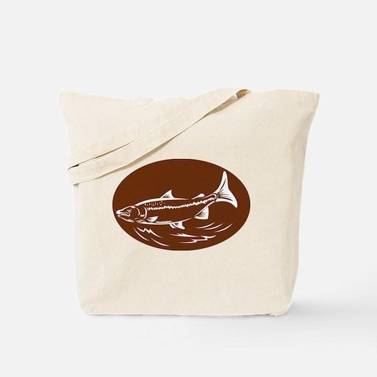trout fish Tote Bag