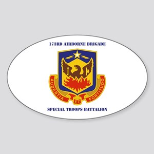 DUI - 173rd Special Troops Battalion with Text Sti