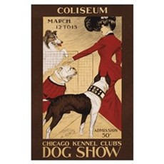 CHICAGO DOG SHOW 11x17 Poster