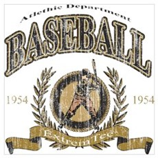 Baseball Retro Poster