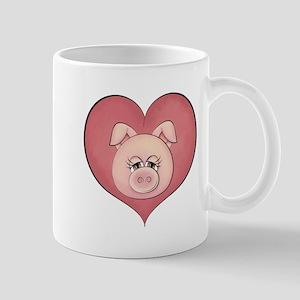 Pig Heart Mug