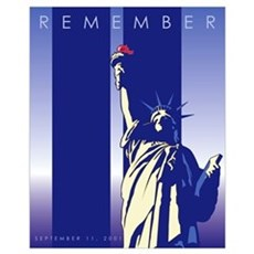September 11th Remembrance Framed Print