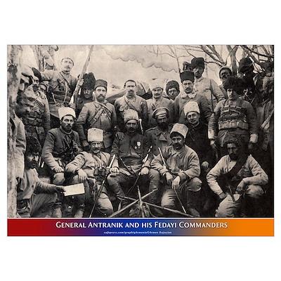 Antranik's Commanders Poster