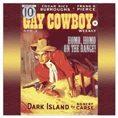 Gay Cowboy Framed Print