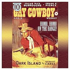 Gay Cowboy Poster