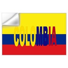 Colombia tricolor Wall Decal
