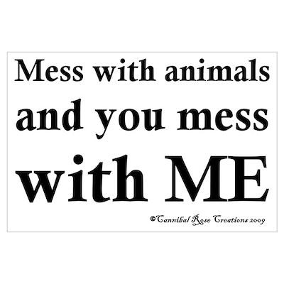 Animal Protector Poster