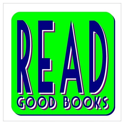 Read Good Books Poster