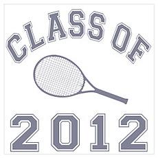 Class Of 2012 Tennis Poster