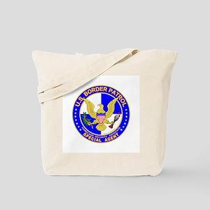 SecOurBdr US Border Patrol Sp Tote Bag