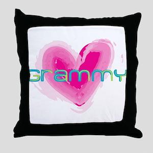 Grammy Love Throw Pillow