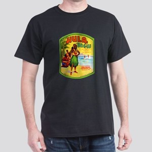 Hawaii Beer Label 2 Dark T-Shirt