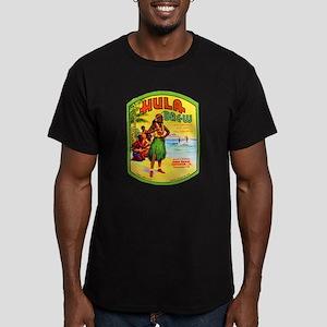 Hawaii Beer Label 2 Men's Fitted T-Shirt (dark)