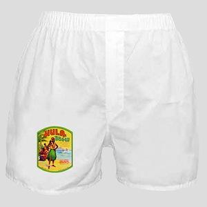 Hawaii Beer Label 2 Boxer Shorts