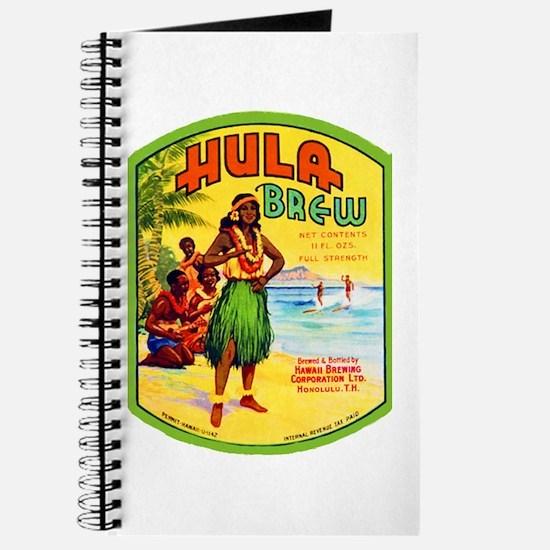 Hawaii Beer Label 2 Journal