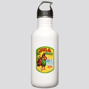Hawaii Beer Label 2 Stainless Water Bottle 1.0L